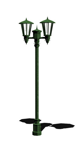 3dsmax lamp lamppost