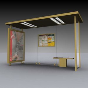 3d bus shelter