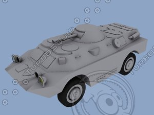 3d tank amphibious able model