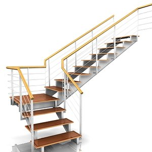3ds max stair staircase