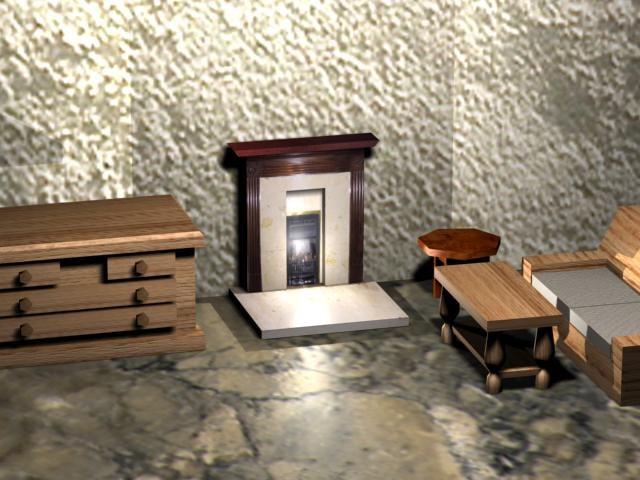 3d home furniture model