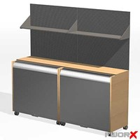 3d max cabinet office