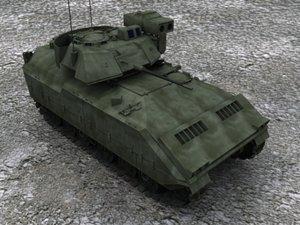 bradley ifv 3d model