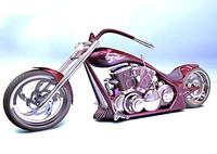 chopper wraith 3d model