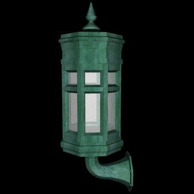 large lamp 3d max
