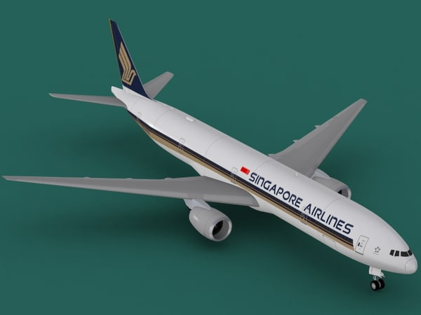 b 777-300 singapore max