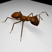 ant boned 3d x