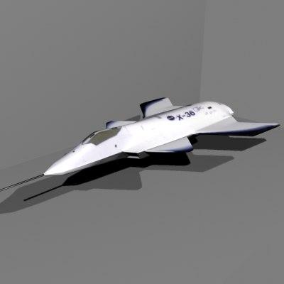 3d model nasa aircraft
