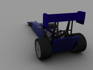 dragster car 3ds