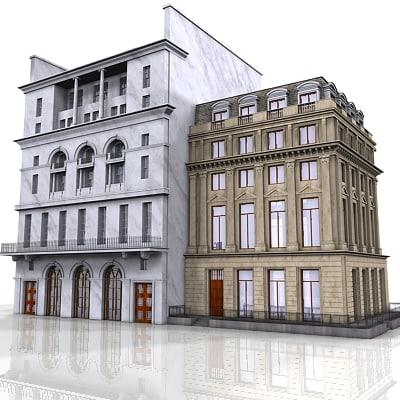 street buildings 3ds