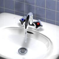 sink water c4d