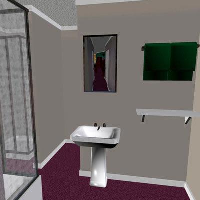imagination works modern 3d model