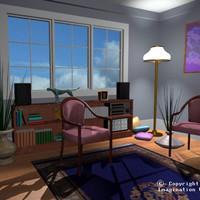 condo condominium 3d model
