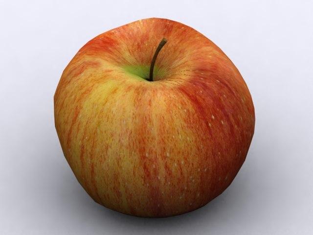 3d cameo apple model