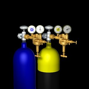 3d model gas pressure