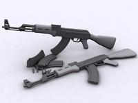 LowPolyAK-47.zip