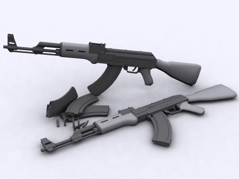 3ds ak ak-47