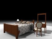 max bedroom bed dresser