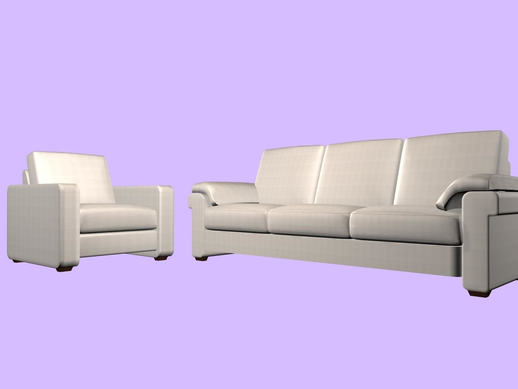 sofa dream natuzzi 3d model