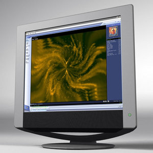 lightwave sony tft 19 monitor