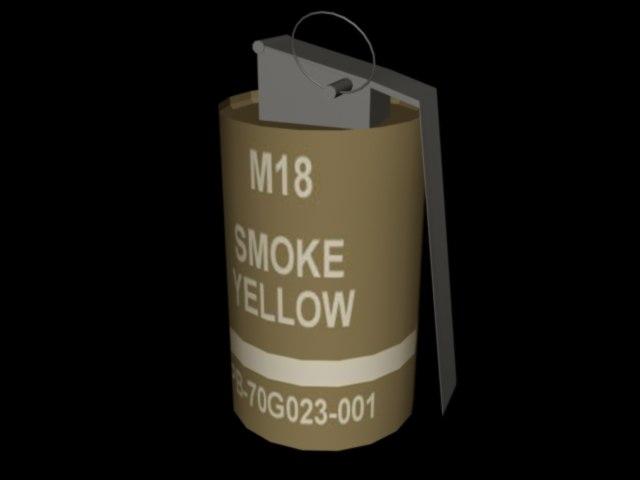 free max mode smoke grenade