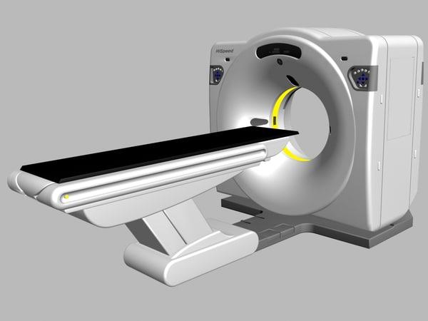 3d ct scanner scan model
