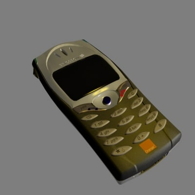 t68 mobile phone 3d model