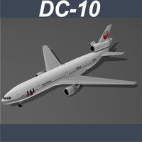McDonell Douglas DC-10 Japan Airlines