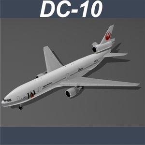 c4d dc-10 airlines jal