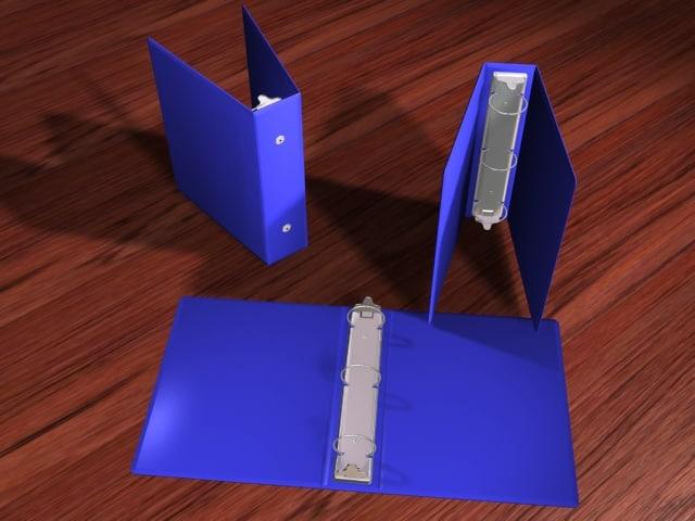 3d 3-ring binders