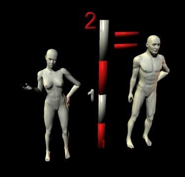 scaling man 3ds free