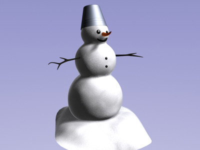 simple snowman max free