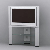 sony tv wega 3d model