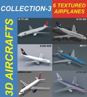 6 Textured Airplanes 3