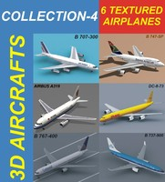 6 Textured Airplanes 4