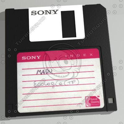 3ds max diskette