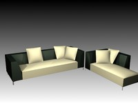3dsmax sofa ligne