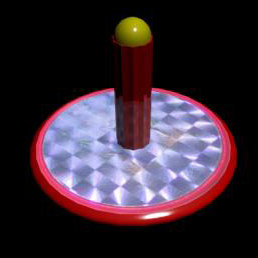 3d model spinning toy ace