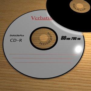 max verbatim cd-r