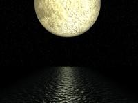 planet moon 3d 3ds