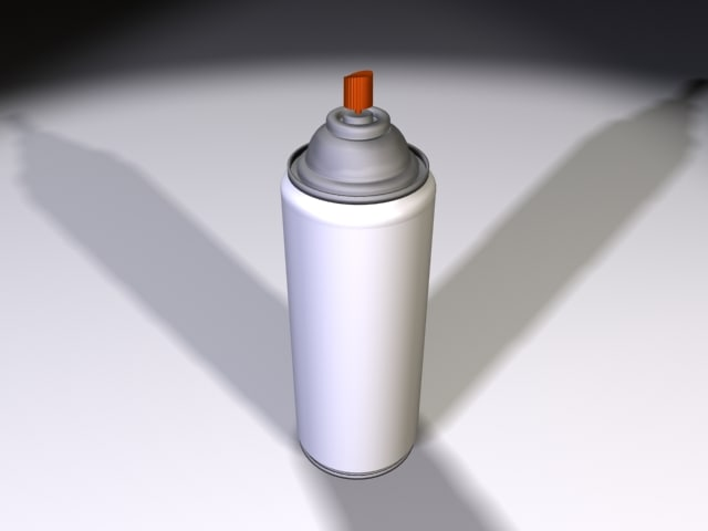 3ds max spray areosol