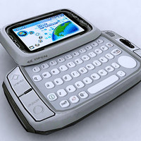 t-mobile hiptop mobile 3d model