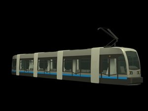 free 3ds model tramway