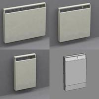 3d model of radiators