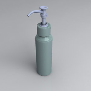 3d obj soap dispenser