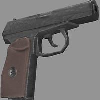 makarov pistol 3d 3ds