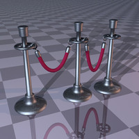velvet roped stanchions lwo