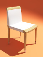 chair giorgetti 3d model