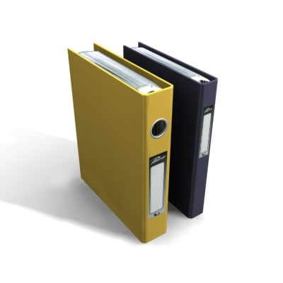 3d folder document