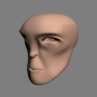 free 3ds mode generic male head